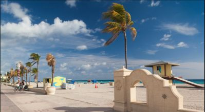 Photo for Gorgeous  4 bed 4 bath Luxury Beach Property steps from the beach!