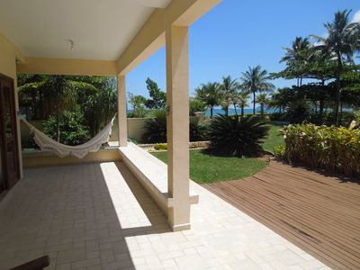 Photo for House condo for the whole family, standing on the sand in Guaecá