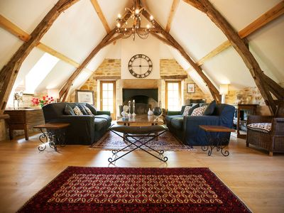 Photo for Stunning Renovated  1 bedroom  Barn in the grounds of an ancient Mill , 90sq.m