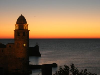Photo for Collioure superb location~stunning sea & mountain views~terrace~minute to beach