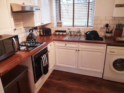 Photo for Cosy Wirral home by beach and pubs - close to Liverpool & Chester