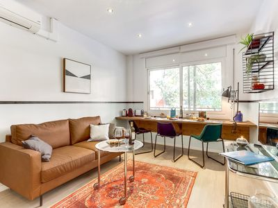 Photo for 2-bedroom Barcelona - Camp Nou vacation apartment