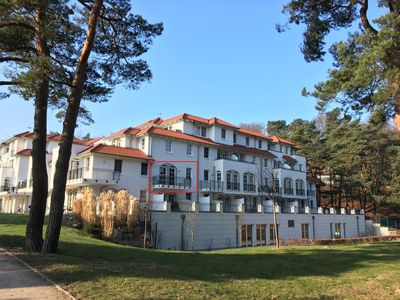"Photo for Apartment ""Sea Eagle"" with direct sea view - only 30m to the beach - Pool u. Sauna incl"
