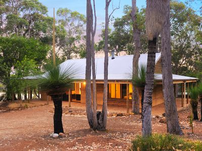 Photo for Tranquil bush setting, with nature on your doorstep, a lake and plenty of wild life, relaxing here is easy.