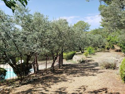 Photo for Comfortable provencal villa with great views, pool, garden & 60+ olive trees