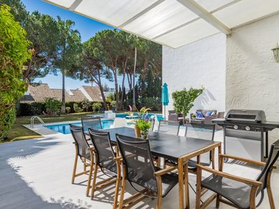 Photo for Luxury Mediterranean Villa Turmalina With 5 Bedrooms, 50 Meters To The Beach, Puerto Banus (6) ✔