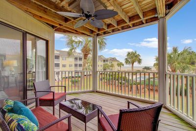Enjoy Pool and Ocean Views from the Porch!