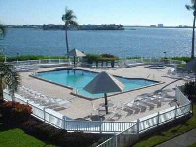 Photo for Escape To This Picturesque Bay Front Condo, Perfect For Couples Or Families.