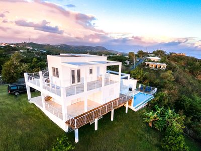 Photo for 360º Vieques - Panoramic Views Private Pool 2 BR Romantic Hilltop Villa