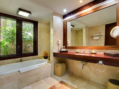 Photo for Very Clean and Comfortable Garden Villa near Kuta Centre