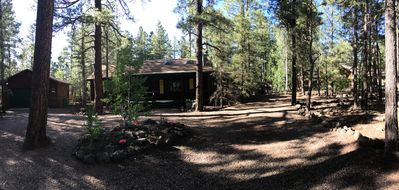 Photo for Beautiful Log Cabin borders national forest in Pinetop Country Club