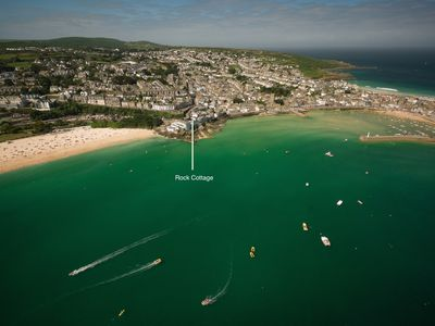 Photo for Sleeps-4 apartment With Outdoor Patio and Parking In St Ives' Best Location