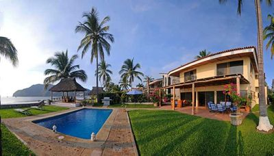Photo for Location, Location, gated community 4 Bedroom house on beautiful sandy beach