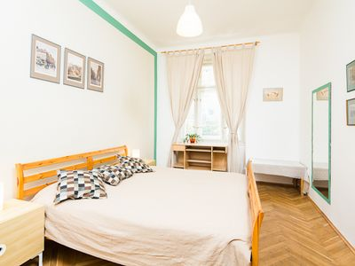 Photo for Large and bright apartment in Prague city center!