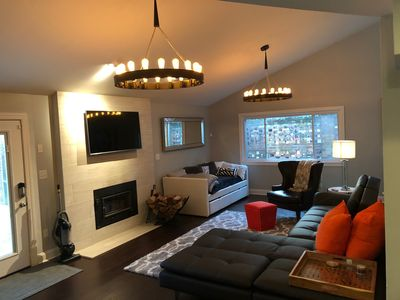 Photo for Unique uptown 3bed 3 bath with tons of parking, land and 3-3 basketball court