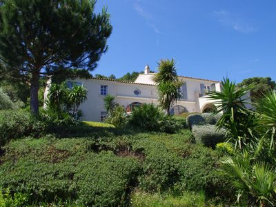 Photo for Impressive Luxury Five Bed Villa With Pool Overlooking The Golfe De St Tropez
