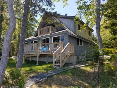 Photo for Beautiful Downeast Maine Oceanfront Cabin near Acadia National Park