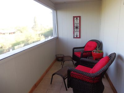 Photo for Neat As A Pin, East Side Condo With Patio And Pool