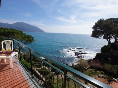 Photo for Dependance Villa Royal. Private beach only for residents Magnificent view 4 bedrooms 3 bathrooms
