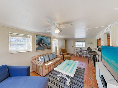 Photo for Centrally Located Beachside Condo w/ Patio - Walk 3 Minutes to Waves & Shops!