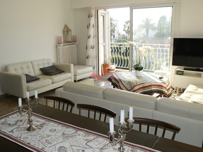 Photo for 5-ROOM APARTMENT, BEACH AND PORT, WITH TERRACE AND PARTIAL SEA VIEW / 8 PERS.