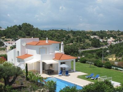 Photo for 3(4) bed heated pool villa, quiet position, WIFI, Carvoeiro center, 24 pics!!!!