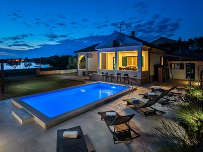 Photo for Beautiful Villa Curta, in Dalmatia, with a Pool