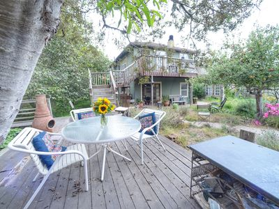 Photo for Family Beach House -  Retreats, Events, Weddings; Creekside Stinson Beach