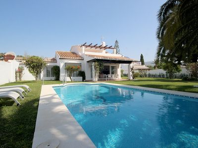 Photo for Charming villa with sea views, recently renovated and with free WIFI.