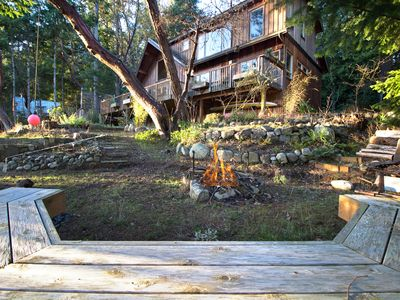 Photo for NEWLY LISTED! WATERFRONT! PRIVATE DOCK! Close to the Roche Harbor!