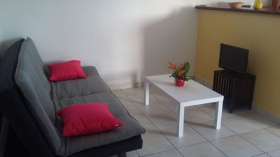 Photo for Furnished apartment, air conditioned 2 km from beautiful beaches, marina, golf, city center