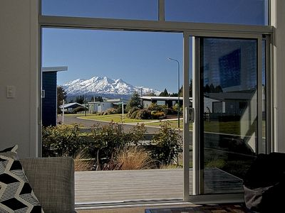 Photo for Snowy Peaks - Ohakune Holiday Home