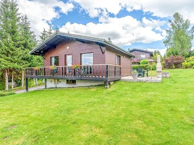 Photo for Scenic Chalet in Gouvy with Garden