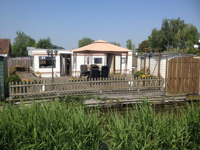 Photo for Large mobile home comfort at the edge of Amsterdam.