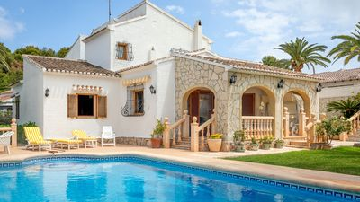 Photo for Traditional Spanish holiday villa up to 9 people, with private pool in Javea