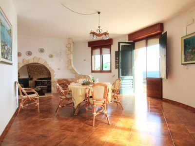 Photo for Gabbiano  apartment in Leuca with WiFi, air conditioning, private parking & private terrace.