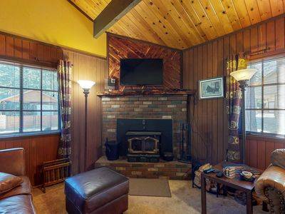 Photo for NEW LISTING! Charming home w/ full kitchen & wood stove - minutes to ski slopes!