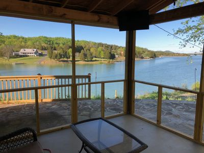 Photo for *BRAND NEW LIST* Douglas Lake Front Cabin Retreat w/ Boat Ramp and Private Dock