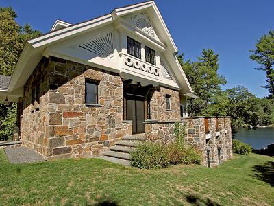 Photo for Historic Luxury 5 BR Lake George Lakefront House