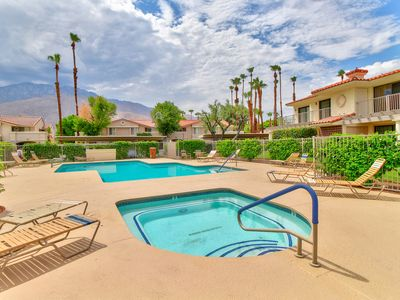 Photo for NEW LISTING! Golf course view condo with shared pool, hot tub, free WiFi & cable