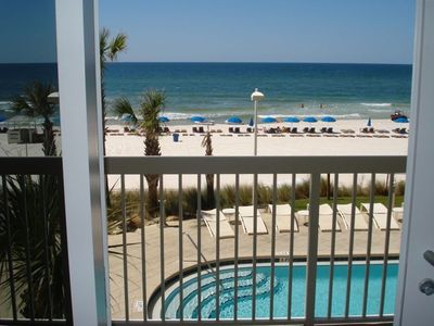 Photo for 2nd Fl@@R*WEST TOWER*SPRING 2019 WEEKS OPEN**WALK 2 PIER PARK*FREE BEACH SERVICE