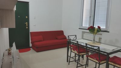 Photo for Homerez last minute deal - Beautiful apt in Genova and Wifi