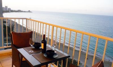 Photo for ovFantastic View-Directly on Gorgeous Beach-Steps to Restaurants