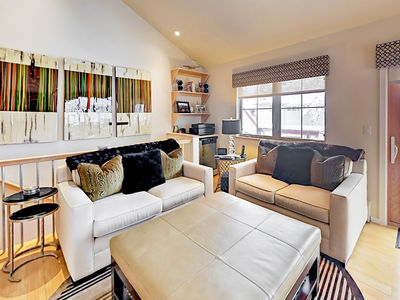 Living Room - Welcome to Aspen! Your TurnKey rental combines the amenities of a boutique hotel with the comforts and privacy of your own home.