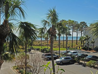 Photo for OCEAN VIEW!Coligny Area~1 BD ,1 BA Includes Bikes, Beach Items and Gym!!