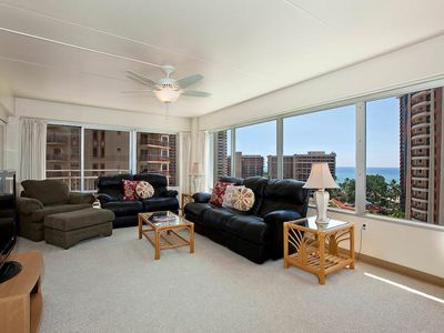 Photo for Ilima Suite within Ala Moana/Waikiki Area perfect for families - city/ocean view