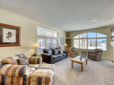 Photo for Pristine condo in Frisco w/views of Lake Dillon w/hot tub access on rec path