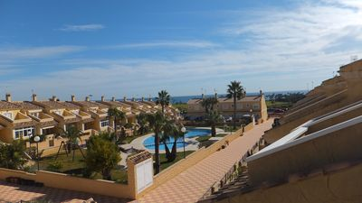 Photo for Luxury 3 Storey Villa, Sea Views, overlooking pool and gardens,  Aircon & WIFI