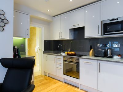 Photo for 1-Bed Apartment with Sofabed - Chelsea, Sloane Avenue - NGH