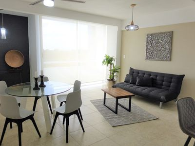 Photo for clean and cozy apartment for six in the center of cancun 402ES